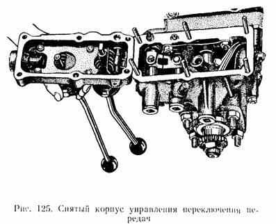 Ремонт коробки передач ЛуАЗ-969.